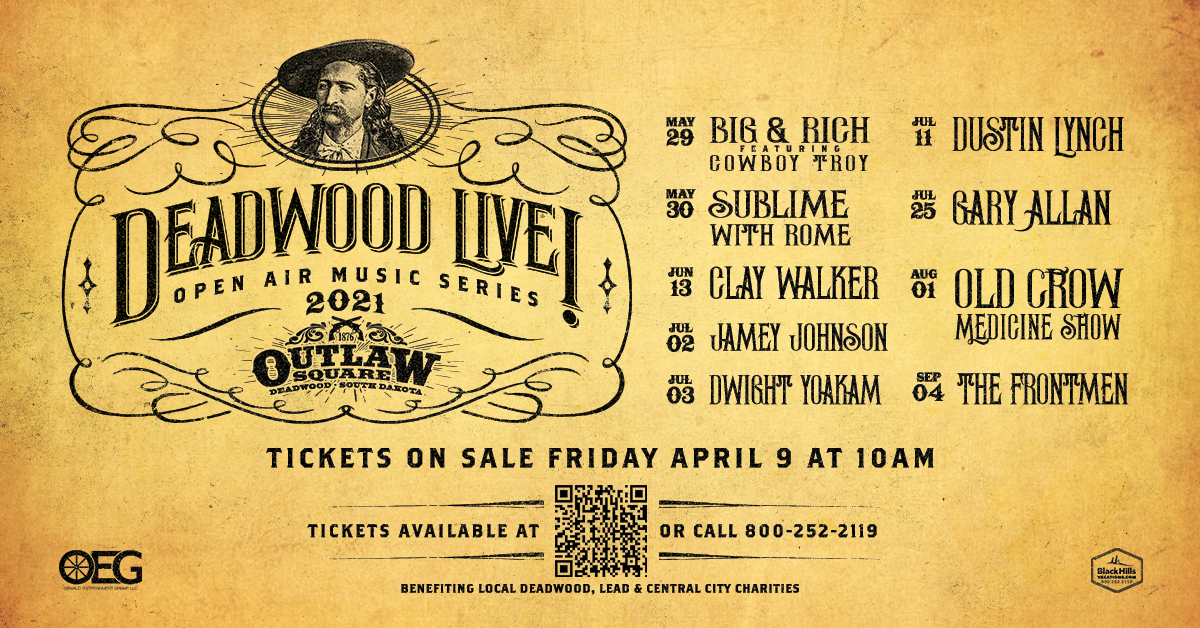 Get Tickets to Deadwood Live